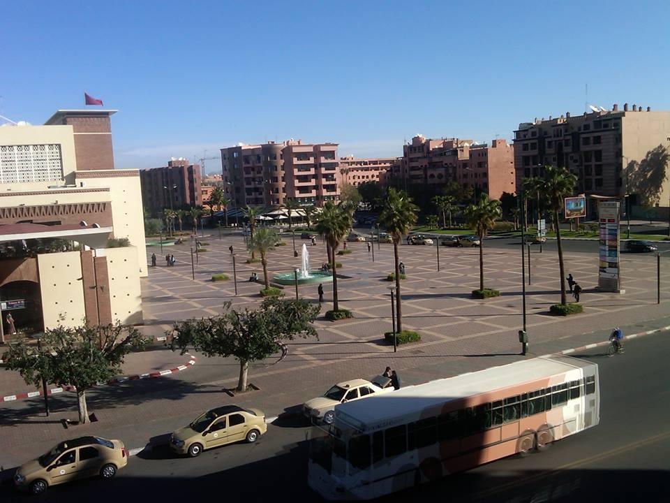 Downtown Marrakesh, Morocco