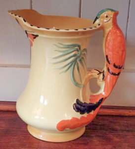 An antique Burleigh jug