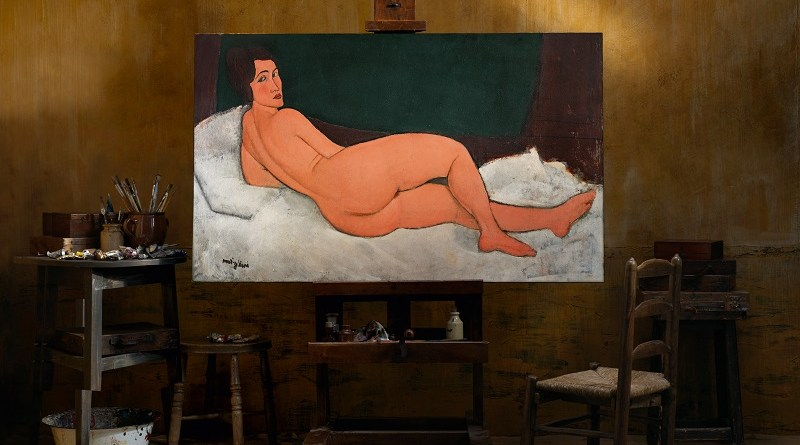The world's most expensive painting - Modigliani, Nu couche