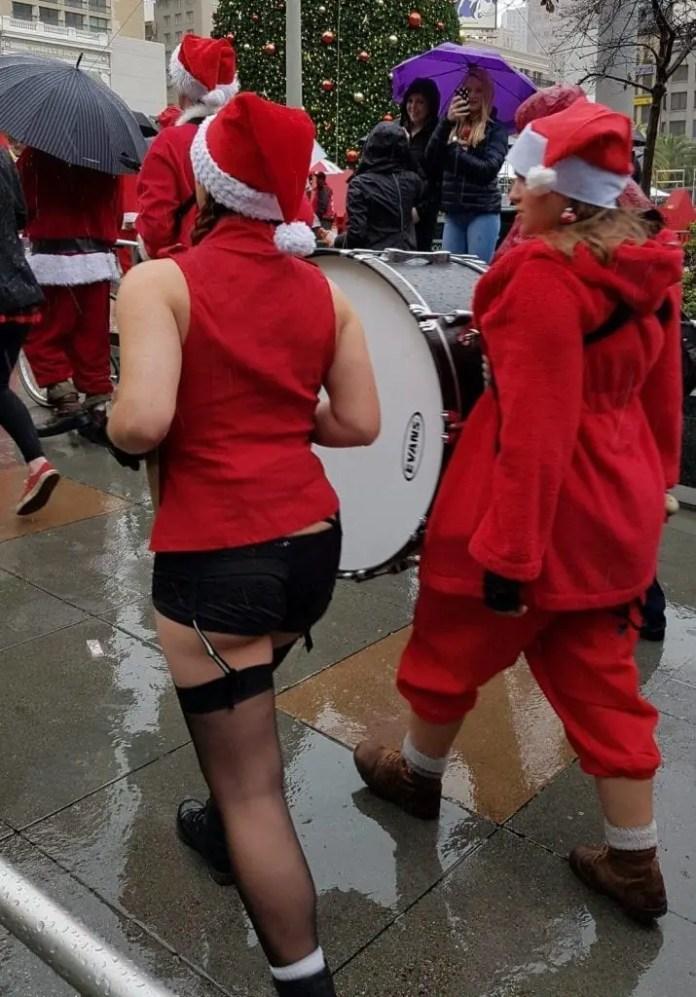 Onward young Santa