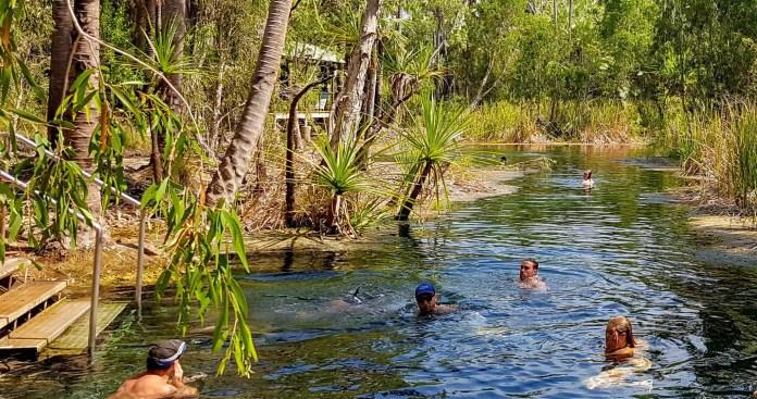 Bitter Springs - Darwin to Adelaide road trip