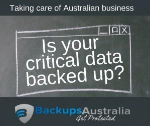 Backups Australia