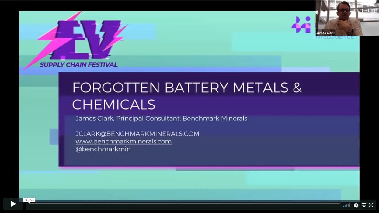 Forgotten battery raw materials and chemicals