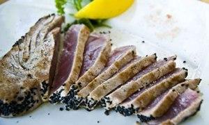 Simple n' Sexy Salt Seared Salmon or Tuna