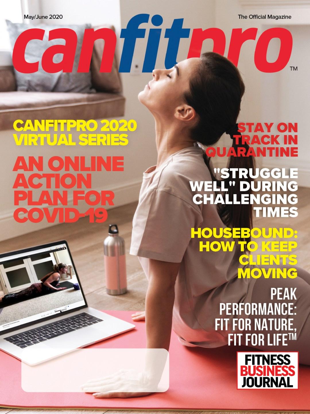 canfitpro Magazine | May/Jun 2020 cover