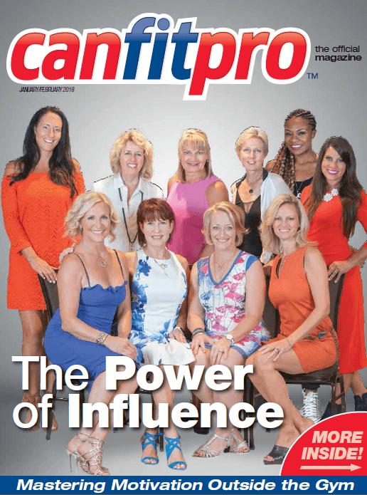 canfitpro Magazine | Jan/Feb 2018 cover