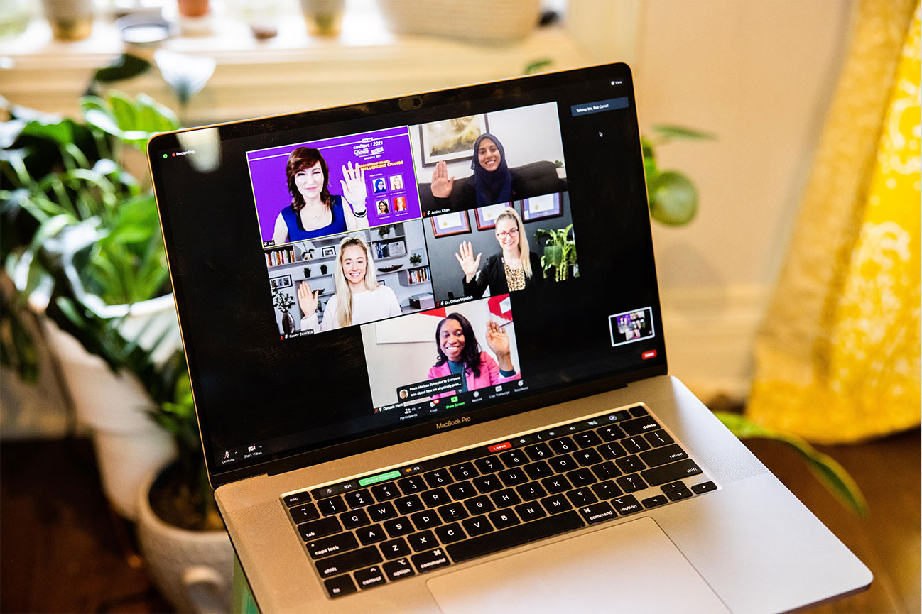 canfitpro events 2021   Women Who Influence   carousel background 1
