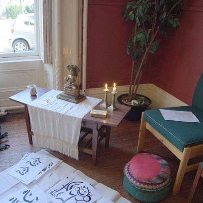 Calligraphy day at Wiston Lodge
