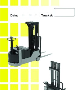 Electric Stacker Walkie Daily Checklist Caddy
