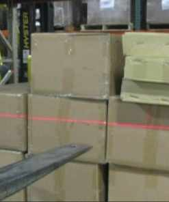 Laser Guide Forklift Guidance System Class 2 Carriage