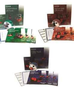 Bilingual Combination Forklift Training Kits