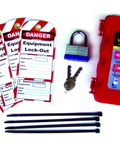 forklift lock out tag out box