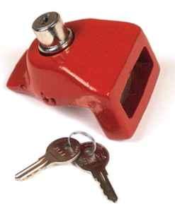 Red Glad Hand Lock