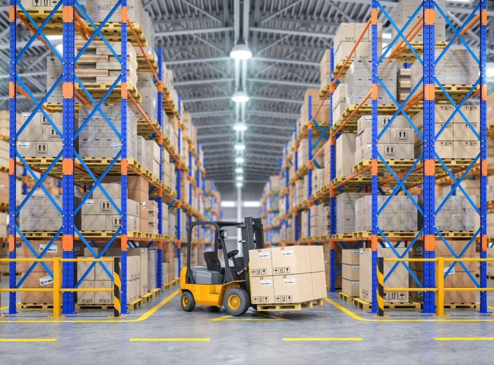 Floor Markings for Forklift Safety