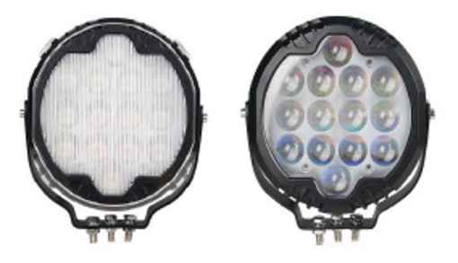 Crane Light Spec Page Image with and without Lens