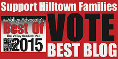 Vote for Hilltown Families as the Valley's Best Blog