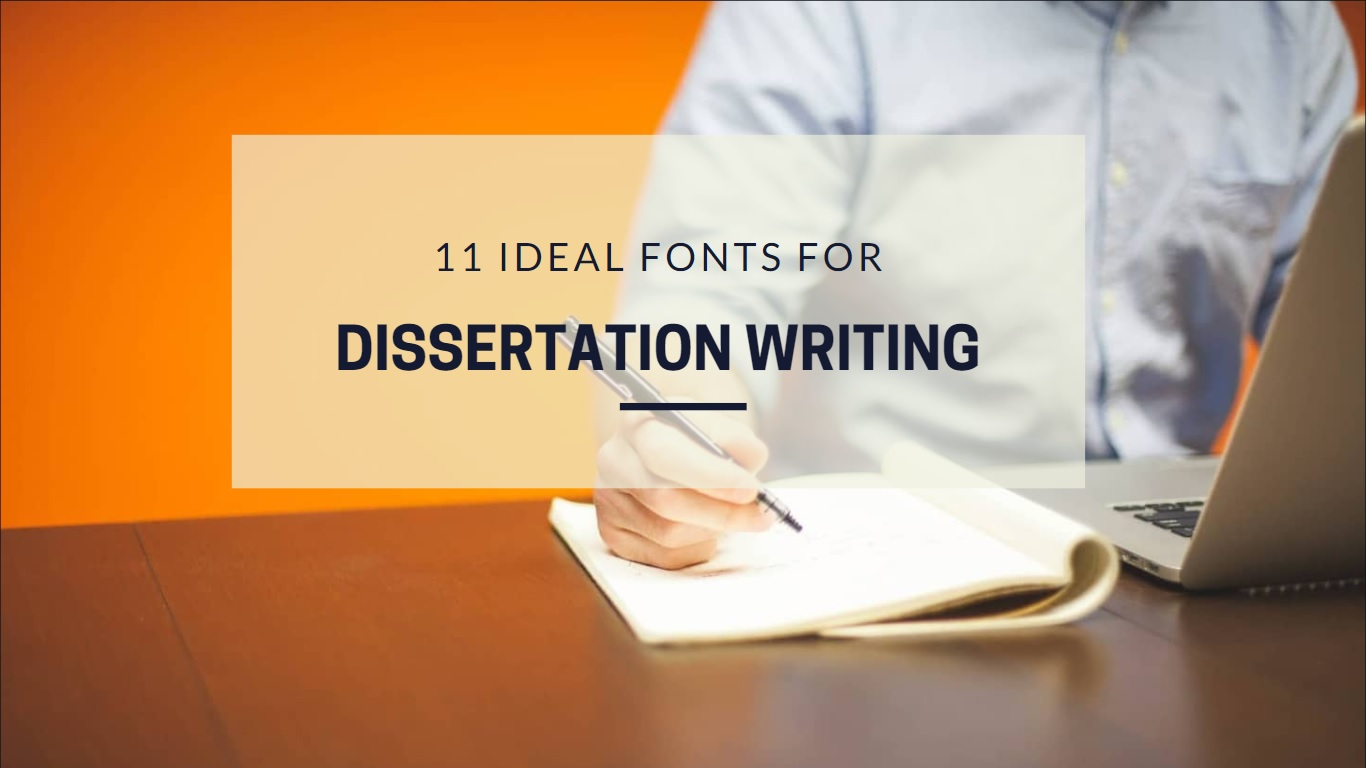 Good font phd thesis