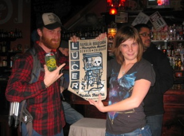 Winners received gig posters, tees, dvds, and more...