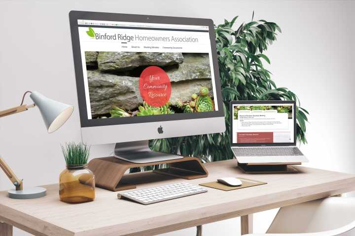 Binford Ridge Homeowners Association Website