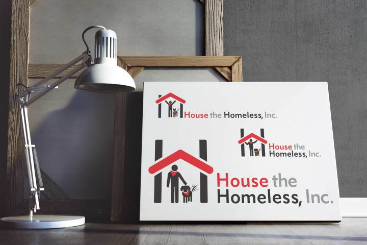 Logo Design Series for House the Homeless, Inc