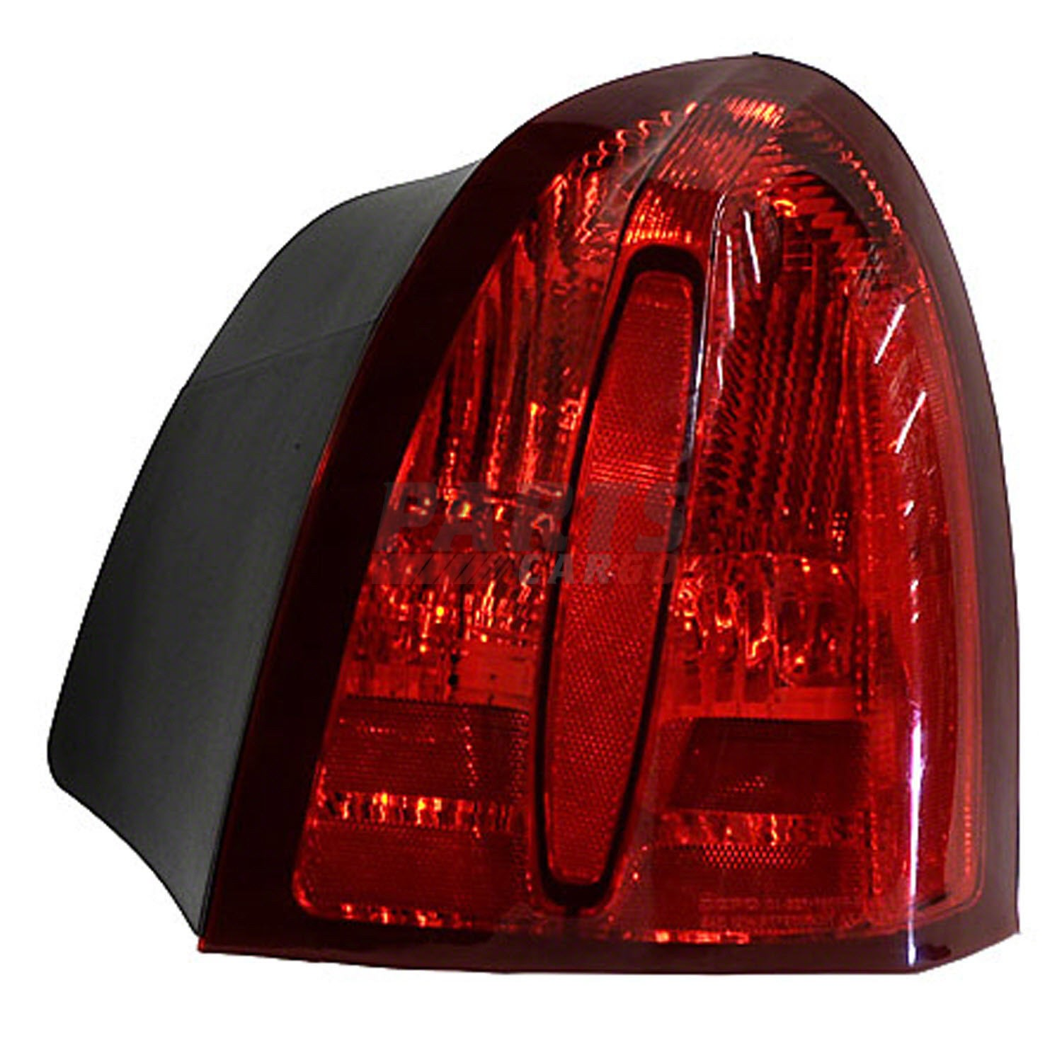 details about new tail light assembly right side fits 1998 2002 lincoln town car xw1z13404ba [ 1500 x 1500 Pixel ]