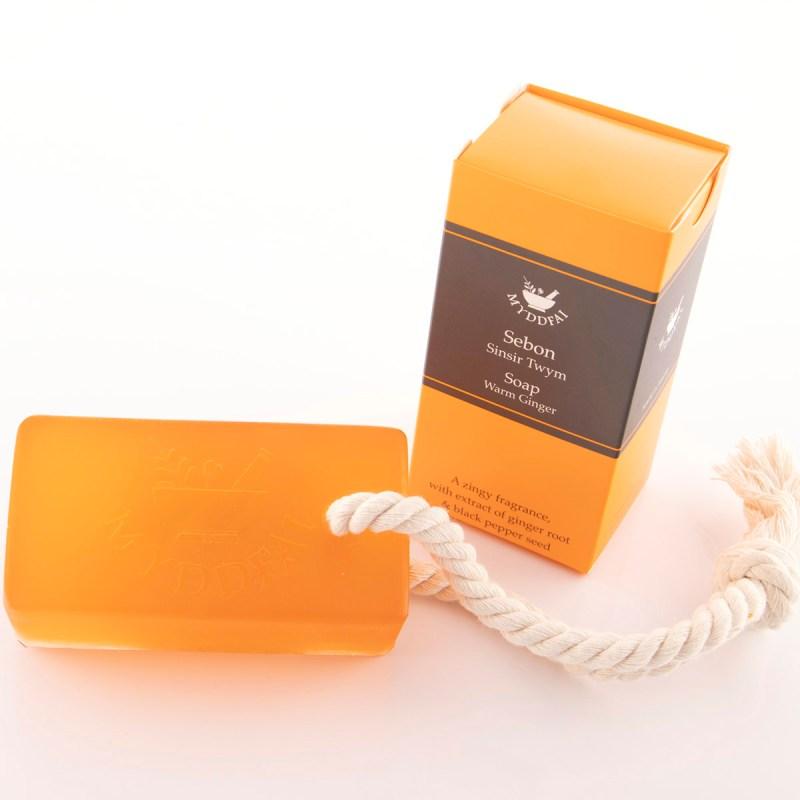 Soap on a rope sinsir twym
