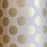 Gift Wrap Gold Dots