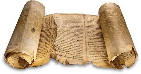 A photograph of one of the Dead Sea scrolls - The Isaiah scroll
