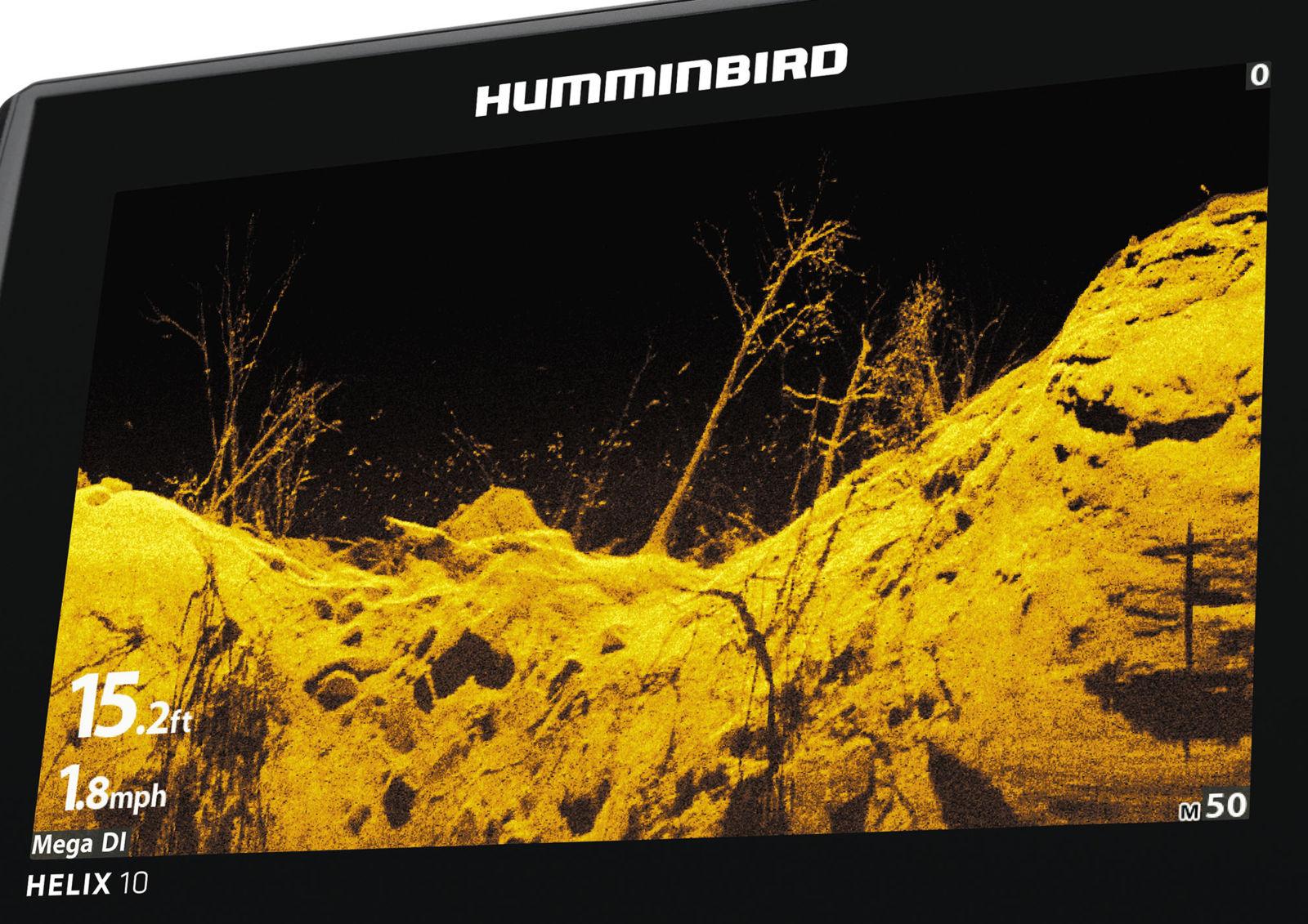 Sonar wars flare Humminbird Mega Garmin UHD Lowrance