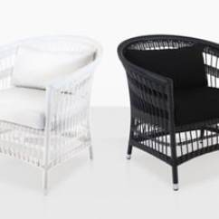 Hawthorne Oversized Sling Chairs Sears And Recliners Teak Warehouse Wicker Outdoor Furniture Black White