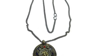 Necklace with Om Pendant