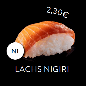 N1 - Nigiri Lachs