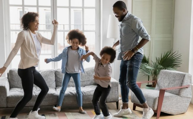 Live Virtual Wellness Family Fun Friday Guided Dance