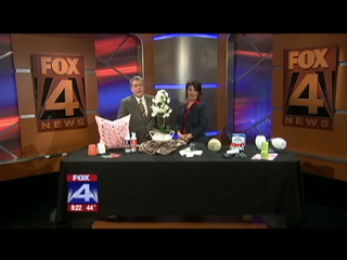 SAR Instructor Karen Otto shows off her home staging knowledge on local Fox TV