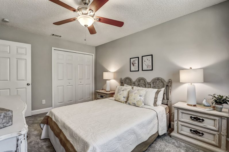 Do you like how we staged this master bedroom?