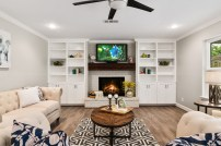 Staging The Nest - Living Room - Vacant Home Staging