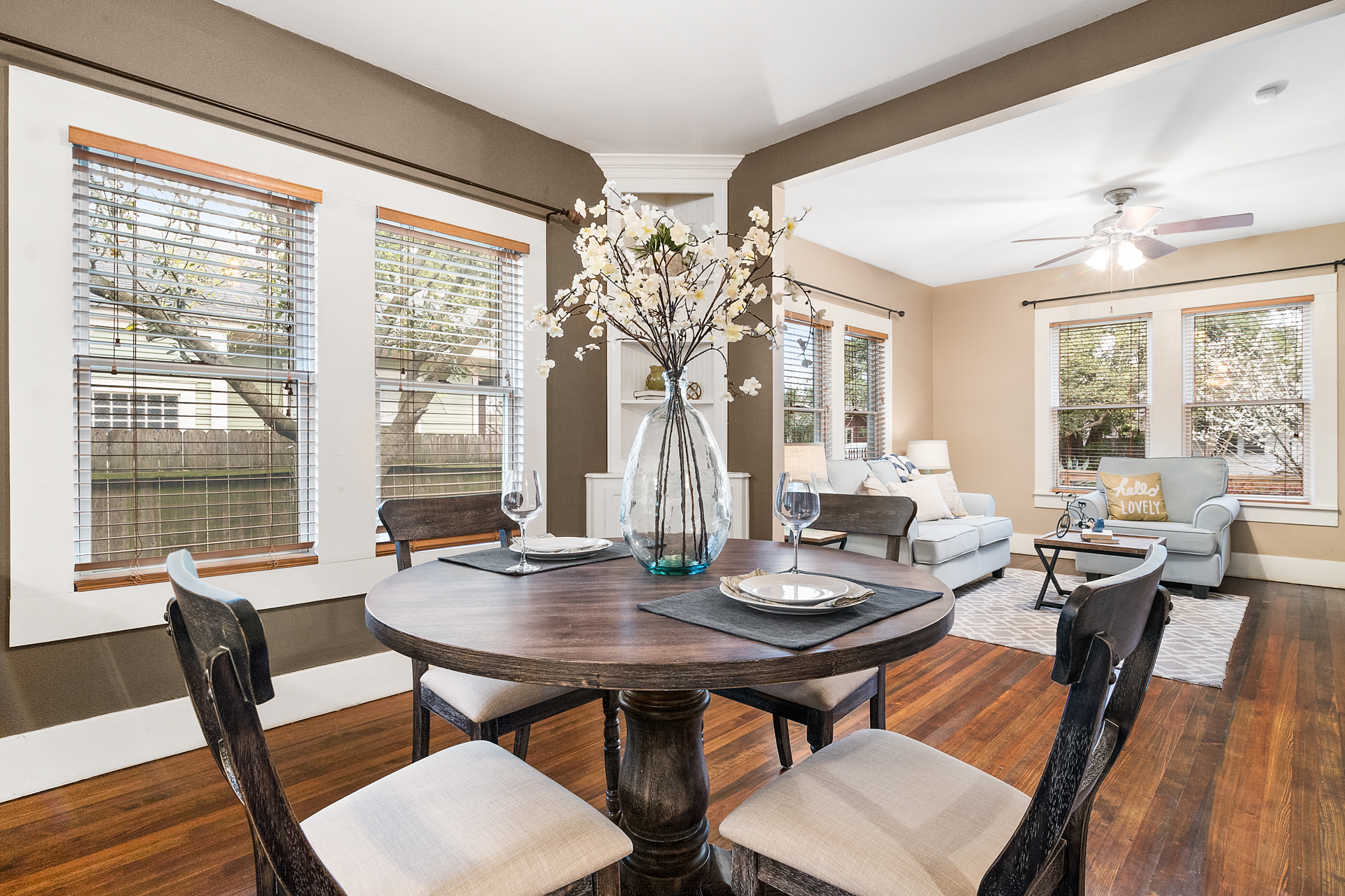 Staging The Nest - Vacant Home Staging - Dining Room 2