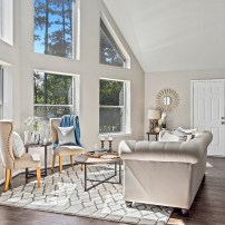 Vacant Home Staging - Staging The Nest - Living Room