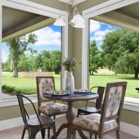 Staging The Nest - Vacant Staging - Breakfast Nook