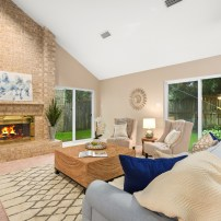 Staging The Nest - Vacant Home Staging - Living Room1