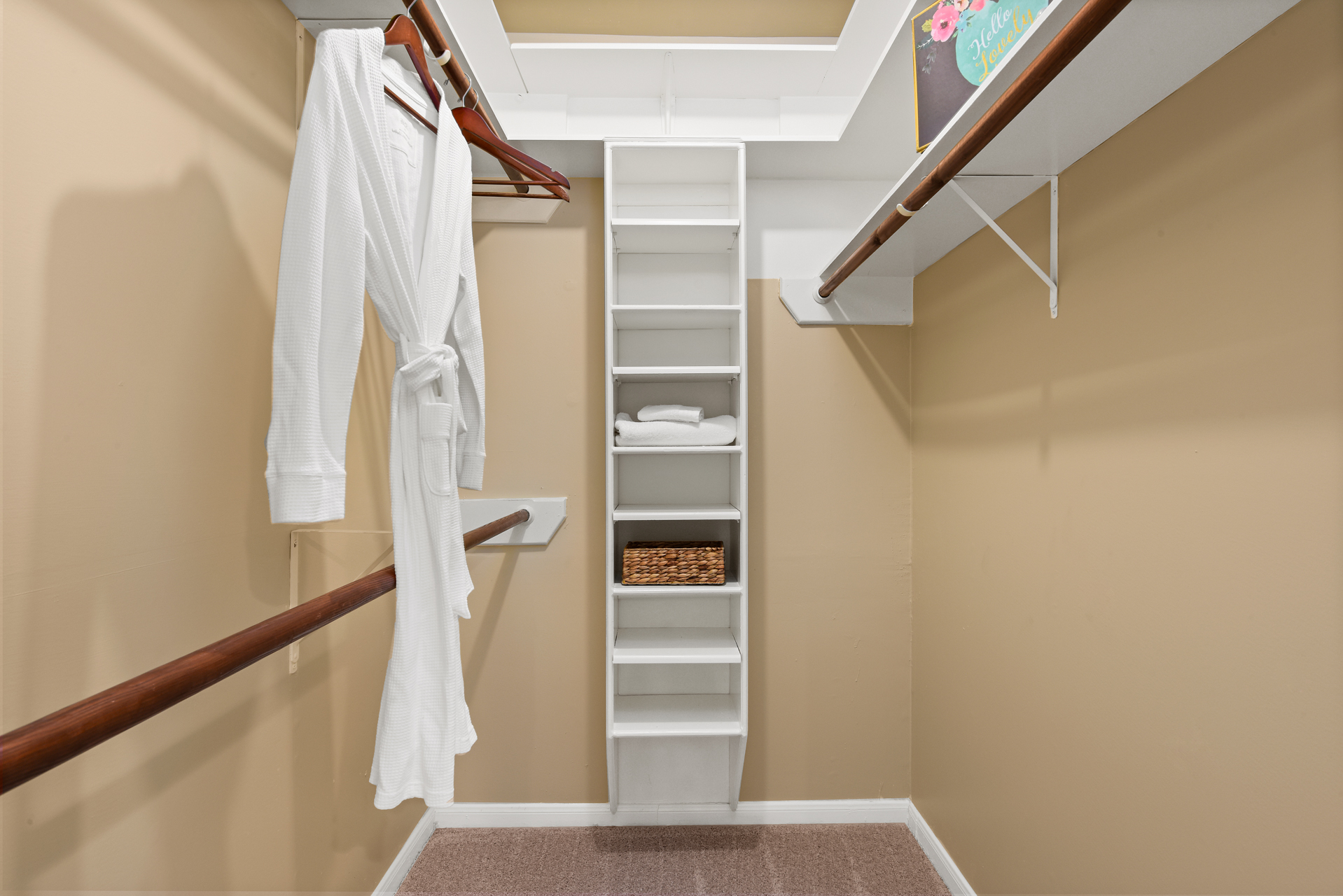 Staging The Nest - Vacant Home Staging - Master Closet