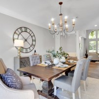 Staging The Nest - Vacant Home Staging - Houston - The Woodlands - Dining Room