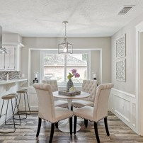 Staging The Nest - Vacant Home Staging - Houston - The Woodlands - breakfast nook
