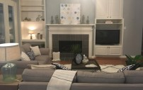 Staging The Nest - Vacant Staging - Living Room
