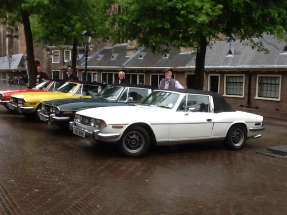 Car trip to Haarlem