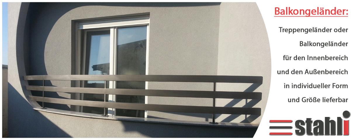 gel nder f r treppen oder balkone stahli eu tore. Black Bedroom Furniture Sets. Home Design Ideas