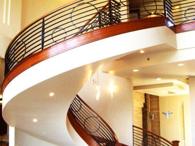 Beispielbild Geländer - Treppen- oder Balkongeländer aus Stahl oder Schmiedeeisen