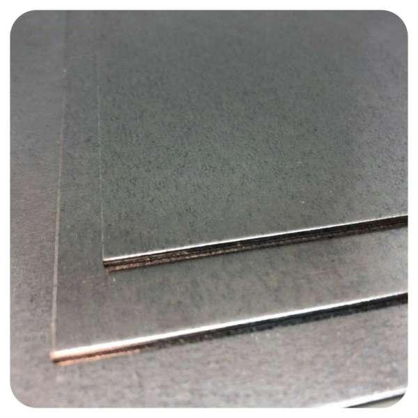 Stahlblech verzinkt von Stahlog | DX51 + Zink | WN: 1.0226 | Feinblech | Stärke 0,7 mm bis 3 mm