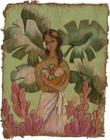 Hawaiian Tiki Art