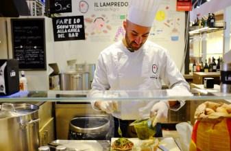 Ricardo is preparing the lampredotto
